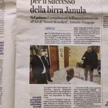 Complimenti a #Cassino e alla #TerraSanctiBenedicti! Auguriamo a tutti voi un 2021 che riempia il Cuore  rispondendo alle esigenze di ciascuno!  #admajolasemper #terroirbirraterrasanctibenedicti #birraagricola #birradicassino #birraartigianale  #TerraSanctiBenedicti #Cassino